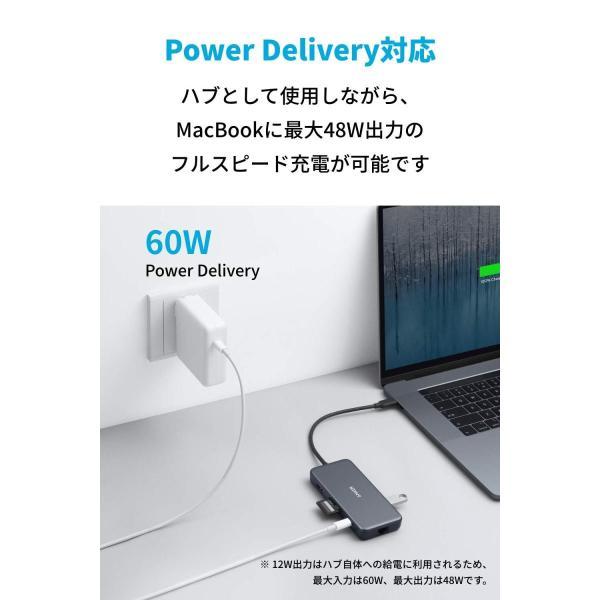 Anker PowerExpand+ 7-in-1 USB-C PD イーサネット ハブ4K対応HDMI出力ポート / 60W出力 Powe lightlyrow 06