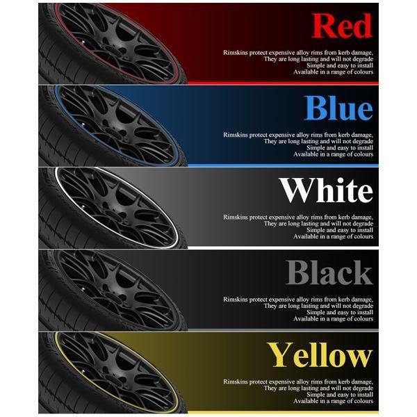数量限定 ホイール リムガード 全9色から色選択可 カラフルな傷防止プロテクター 1台分/8m|lightning|03