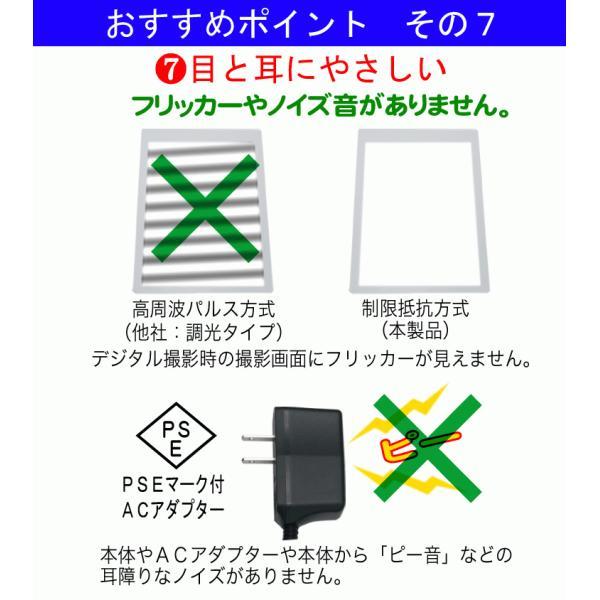 日本製「側面スイッチで誤動作防止」A4うす型  ライトボックス  高演色 NEW LEDトレーサーA4(NA4-02)色温度 5000k ビュアー シャーカステン ネガ