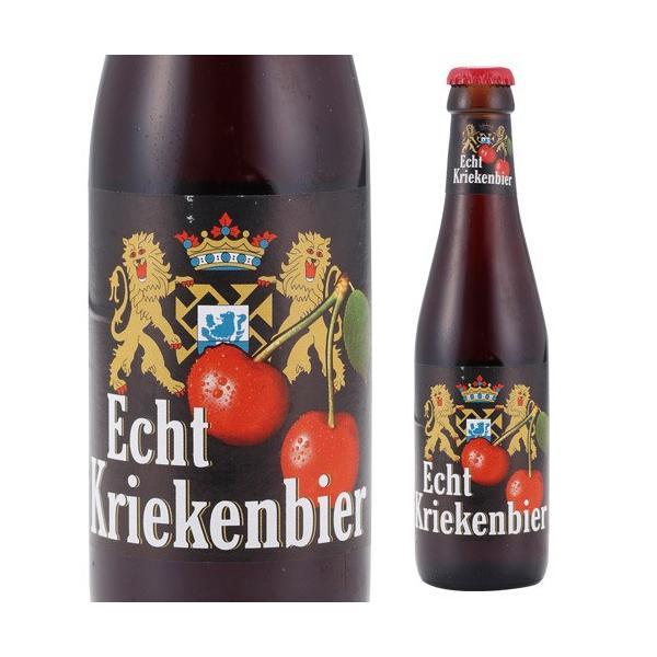 ベルギー ビール エヒテ クリーケンビール 250ml 瓶 単品販売 輸入ビール 海外ビール フルーツビール likaman