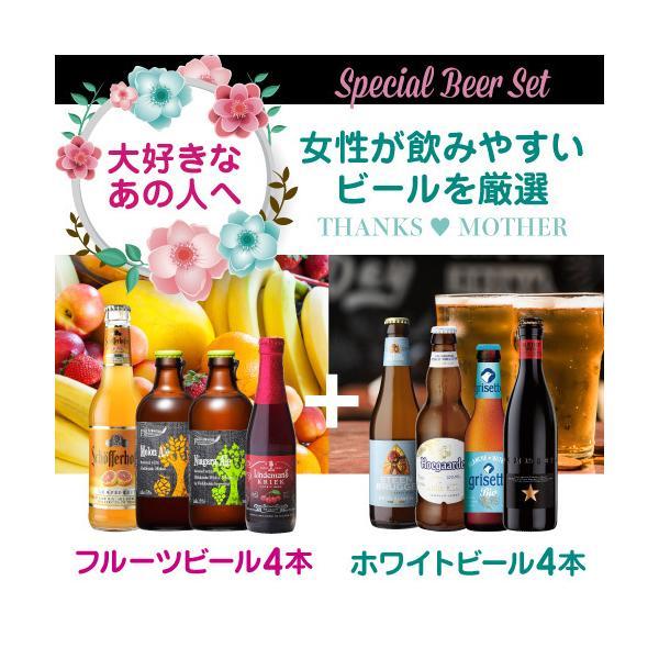 在庫処分の訳あり品 アウトレット 送料無料 輸入ビール 海外ビール フルーツビール ホワイトビール ビールセット 8本 長S|likaman|03