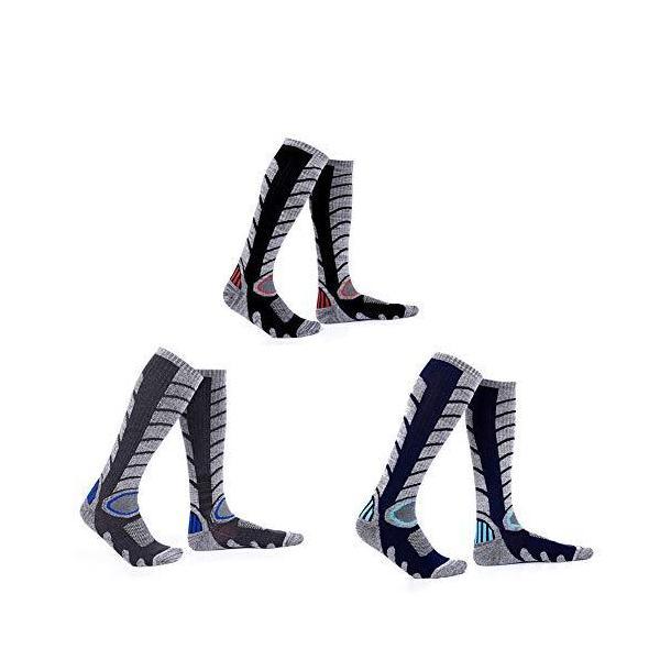 アウトドアソックス運動用おしゃれな柄多機能圧縮ソックスカジュアルビジネス靴下膝ロングタイ?