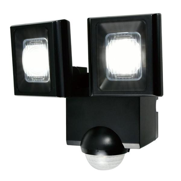 ELPA(エルパ) 屋外用LEDセンサーライト 乾電池式 ESL-N112DC 送料無料