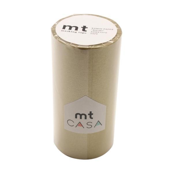 mt CASA マスキングテープ 100mm幅×10m巻き 金 MTCA1084 送料無料