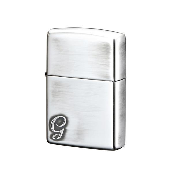 ZIPPO(ジッポー) オイルライター アルファベットシリーズ G (♯200) 70517 送料無料  代引き不可