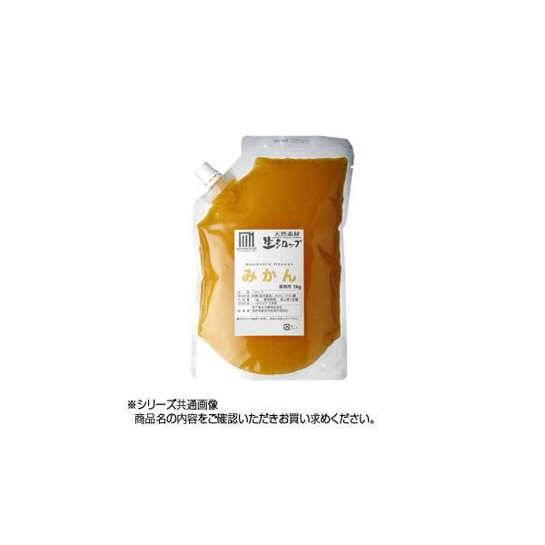 かき氷生シロップ みかん 業務用 1kg 3パックセット 送料無料  代引き不可