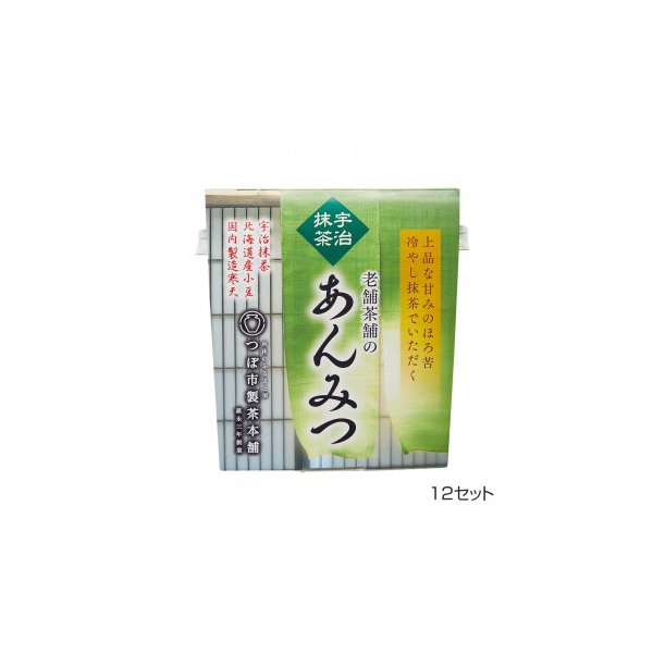 つぼ市製茶本舗 宇治抹茶あんみつ 179g 12セット 送料無料  代引き不可