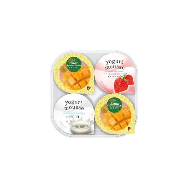 金澤兼六製菓 詰め合せギフト マンゴープリン&ヨーグルトムース 4個入×30セット PY-4 送料無料  代引き不可