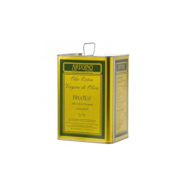 アルドイーノ エキストラヴァージンオリーブオイル フルクトゥス 3000ml 4缶セット 156 送料無料  代引き不可