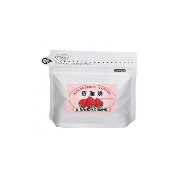 石垣珈琲 苺珈琲 いちごコーヒー 100g×3パック フレーバーコーヒー 粉 送料無料  代引き不可