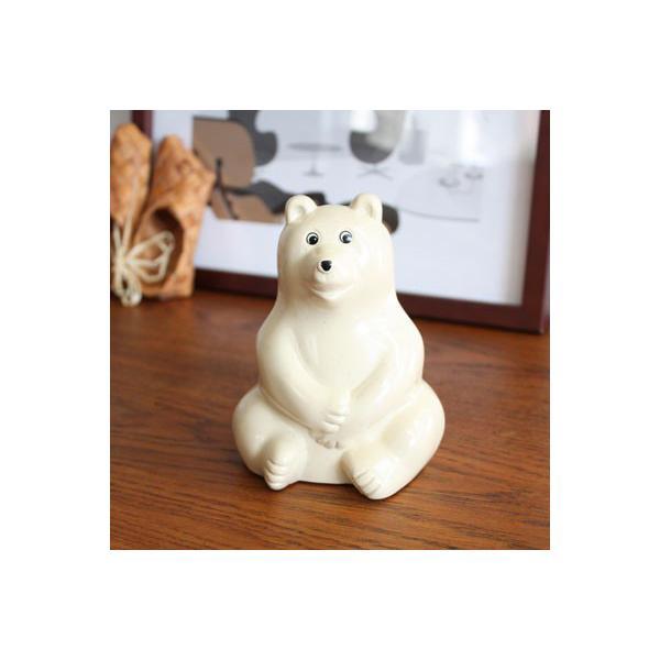 北欧 シロクマ貯金箱 Polar Bear ポーラーベアー  Money box MK Tresmer(エムケートレスマー)