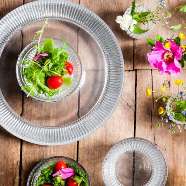 お皿  muurla ムールラ  ノスタルジー プレート28cm 1枚 北欧食器 ガラス食器|lilicocoshop