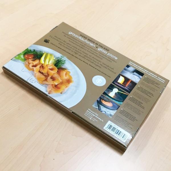 お皿  muurla ムールラ   フィッシュプレート33cm 北欧食器 ガラス食器 魚|lilicocoshop|05