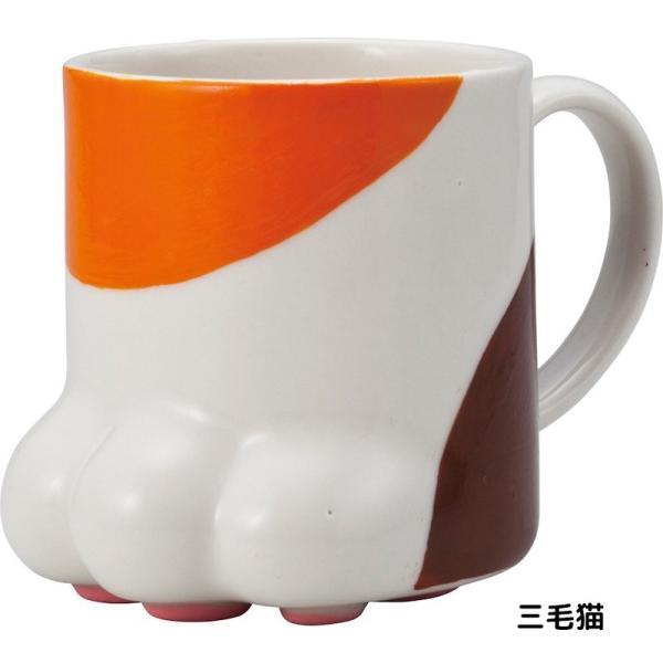 マグカップ おしゃれ 肉球マグカップ 陶器 コーヒーカップ 猫グッズ 雑貨 プレゼント 女性 スズラン lilly2016 04