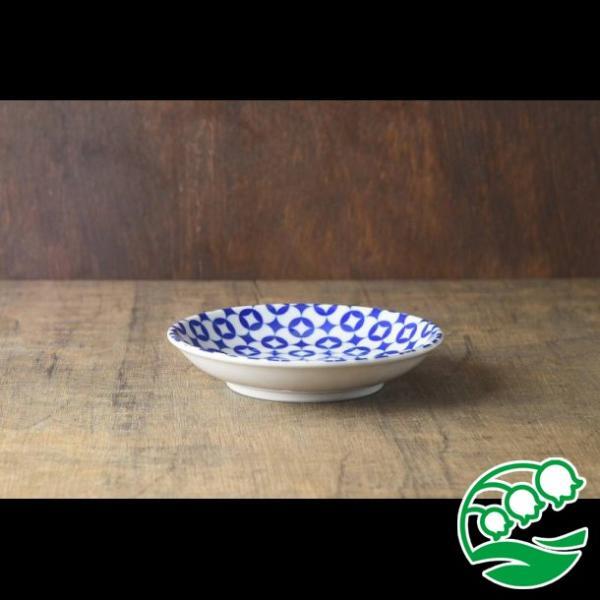 取り皿 おしゃれ 13.5cm丸紋小皿 アウトレット 和食器 美濃焼 中皿 丸皿 スズラン|lilly2016|02