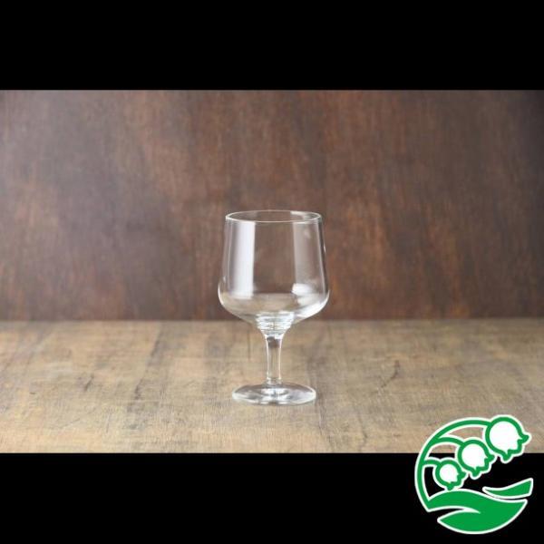 ワイングラス おしゃれ ステムの短いワイングラス 280ml クリア グラス カクテルグラス スズラン lilly2016 02