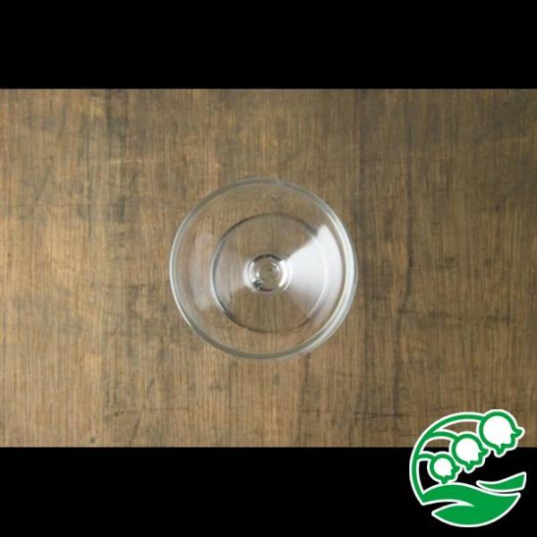 ワイングラス おしゃれ ステムの短いワイングラス 280ml クリア グラス カクテルグラス スズラン lilly2016 03