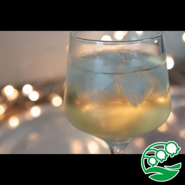 ワイングラス おしゃれ ステムの短いワイングラス 280ml クリア グラス カクテルグラス スズラン lilly2016 08