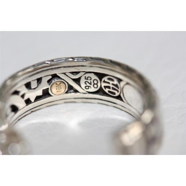 John Hardy ジョンハーディー リング 指輪 シルバーリング シルバー アクセサリー メンズ 男性 送料無料