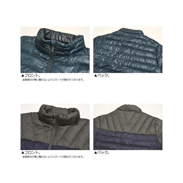 ダウンジャケット メンズ ブルゾン ウルトラライトダウン インナーダウン 撥水加工 軽量 アウトドア 羽毛 RQ0882|limited|19
