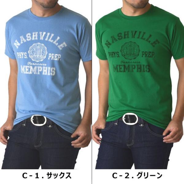 送料無料 Tシャツ 半袖 メンズ プリント Vネック クルー アメカジ ロゴ ミリタリー 通販M1|limited|04