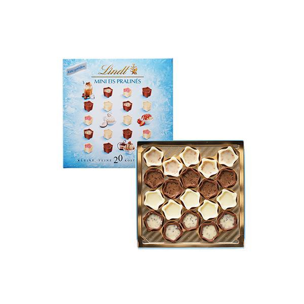 公式 リンツ Lindt チョコレート ミニプラリネ アイス 90g