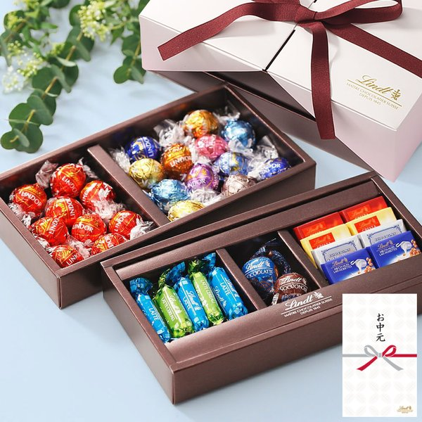 母の日2021公式リンツチョコレートLindtピック&ミックスギフトコレクションプレミアム(込)リンドールスイーツ