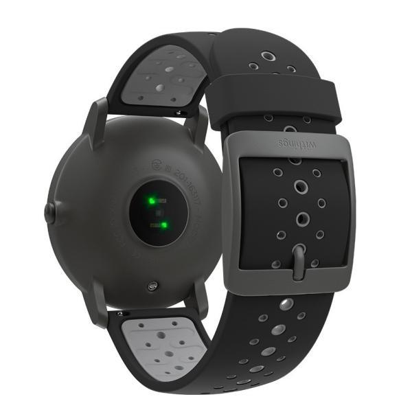 スマートウォッチ Withings ウィジングズ Steel HR Sport Black 40mm 心拍計測 ウォーキング ランニング|line-mobile|09