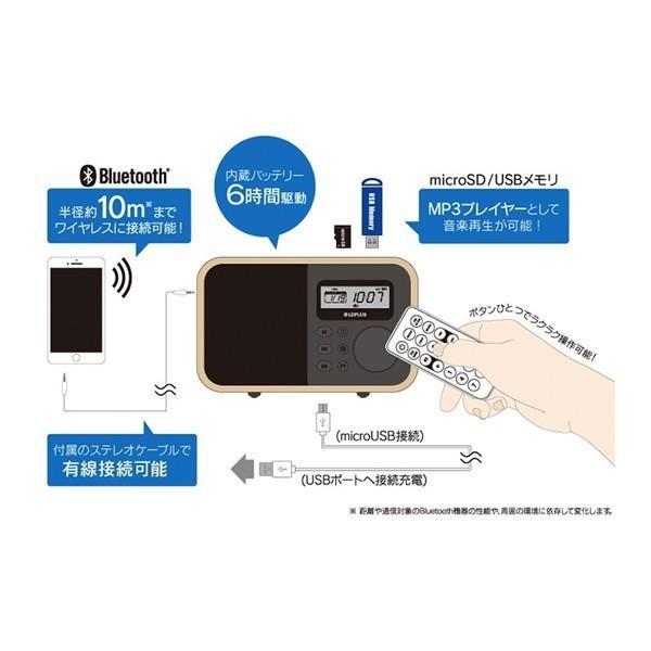 LEPLUS ワイヤレス スピーカー Classica ウォールナットウッド調|line-mobile|06