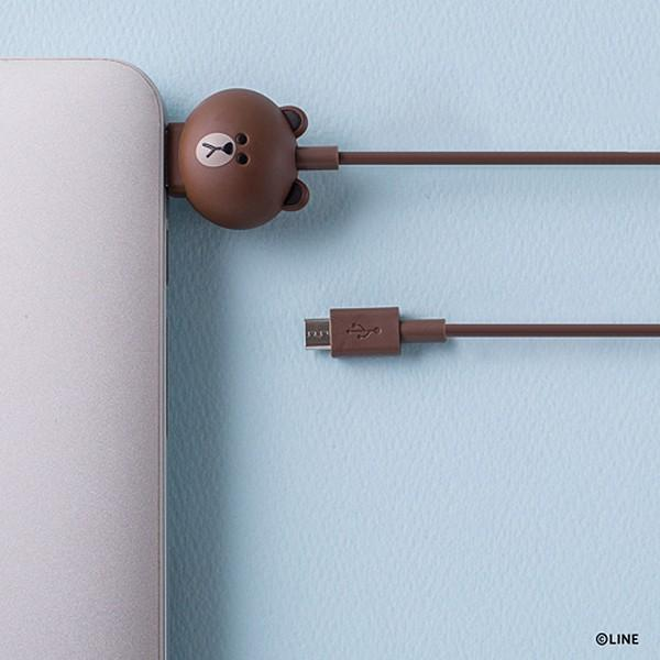 Micro USBケーブル LINE FRIENDS 充電&データ サリー|line-mobile|03