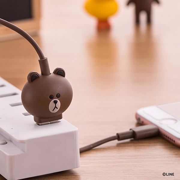 Micro USBケーブル LINE FRIENDS 充電&データ サリー|line-mobile|04