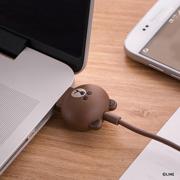 Micro USBケーブル LINE FRIENDS 充電&データ サリー|line-mobile|05