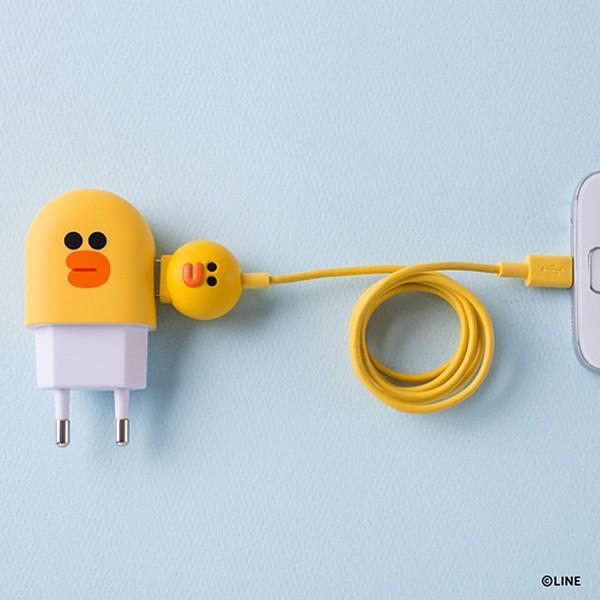 Micro USBケーブル LINE FRIENDS 充電&データ サリー|line-mobile|06