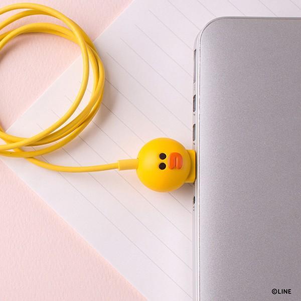 Micro USBケーブル LINE FRIENDS 充電&データ サリー|line-mobile|07