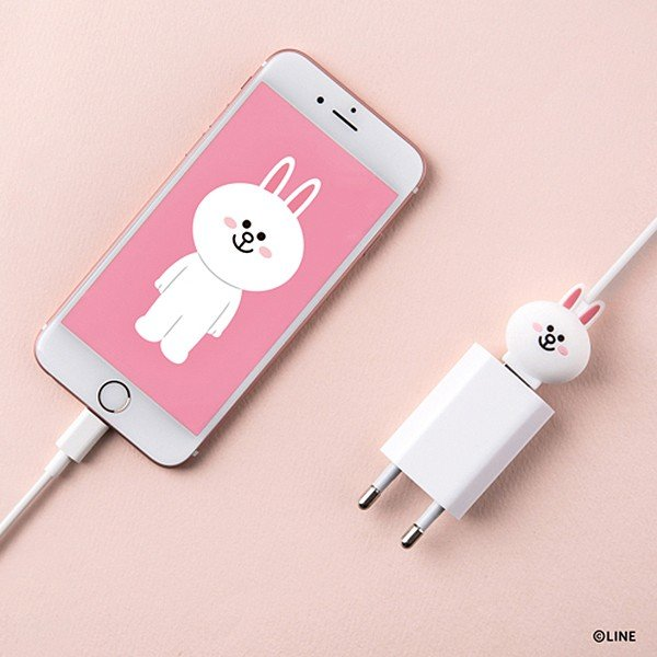 Micro USBケーブル LINE FRIENDS 充電&データ コニー|line-mobile|08