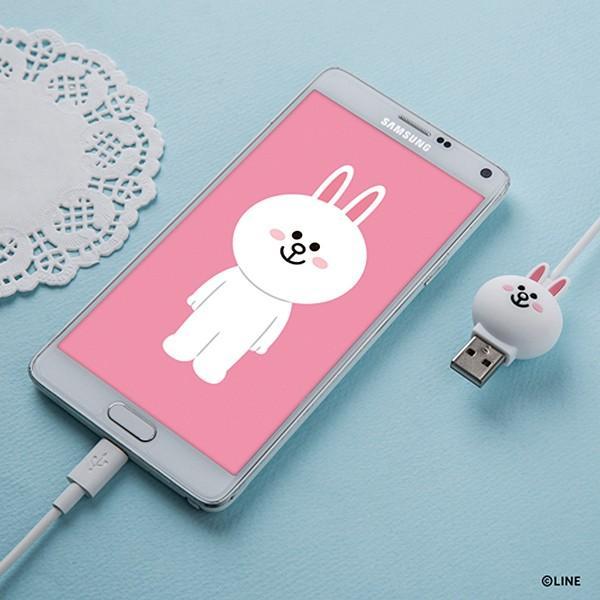 Micro USBケーブル LINE FRIENDS 充電&データ コニー|line-mobile|09
