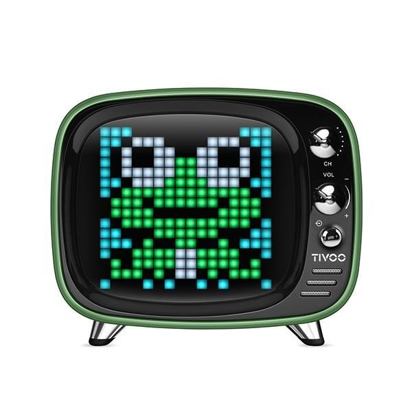 Tivoo ピクセルアシスタント Bluetooth スピーカー Green|line-mobile|02