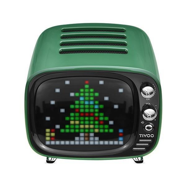 Tivoo ピクセルアシスタント Bluetooth スピーカー Green|line-mobile|03