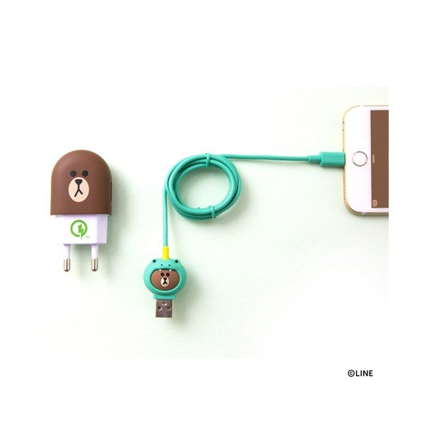 MFi認証 Lightning Cable JUNGLE BROWN ピギーブラウン|line-mobile|02