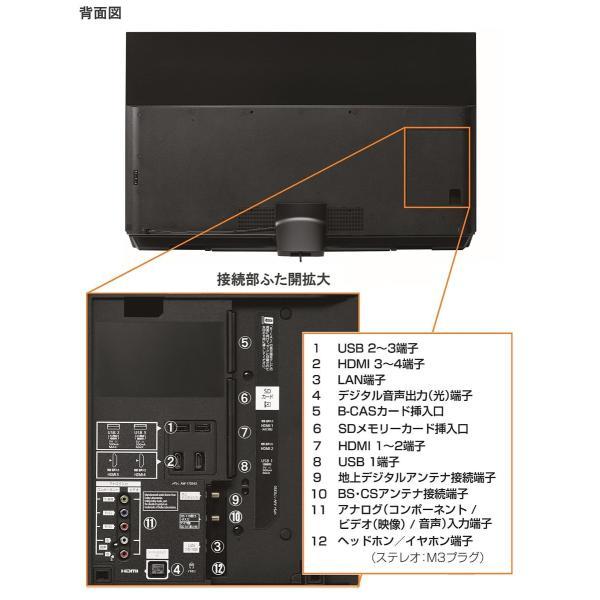 パナソニック 55V型 有機EL テレビ ビエラ TH-55FZ950 4K   2018年モデル|lineshonpo|04