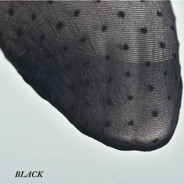 【OROBLU】(オロブル)  Adelle   インポートタイツ  20デニール 薄手ストッキング パンストオールスルー ストッキングオールスルー ドット模様 lingerie-felice 04