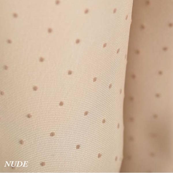 【OROBLU】(オロブル)  Adelle   インポートタイツ  20デニール 薄手ストッキング パンストオールスルー ストッキングオールスルー ドット模様 lingerie-felice 05