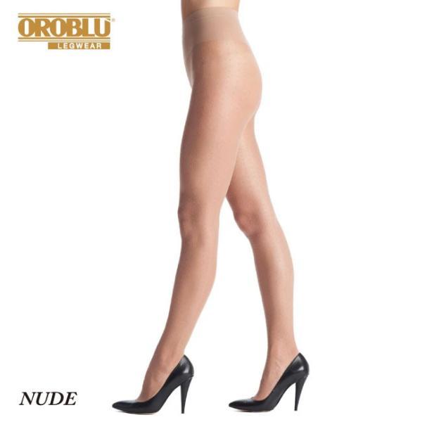【OROBLU】(オロブル)  Adelle   インポートタイツ  20デニール 薄手ストッキング パンストオールスルー ストッキングオールスルー ドット模様 lingerie-felice 08