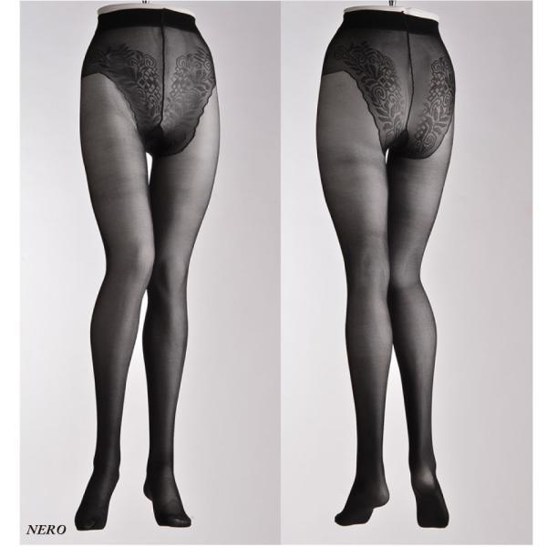 Levante/レバンテ BRASIL 40den ブラジリアンショーツ付き パンティストッキング|lingerie-felice|03