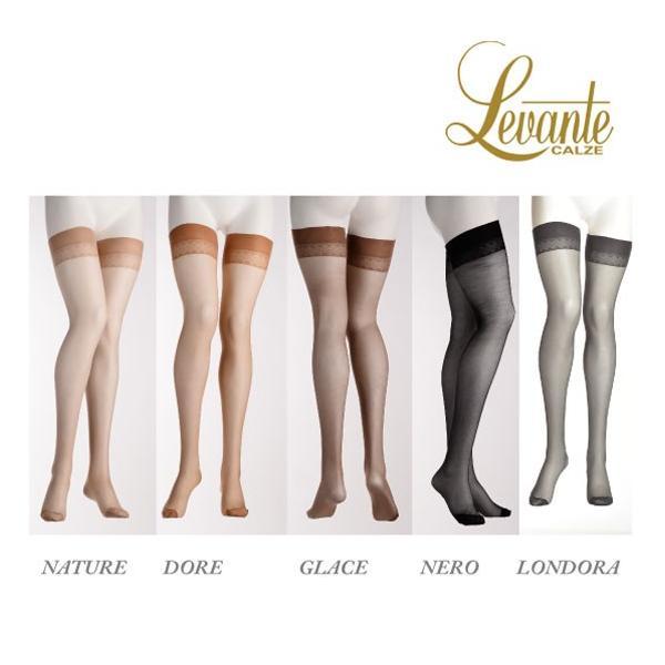 Levante【レバンテ】ガーター/ガーターストッキング/VANESSA20 インポート/オールシーズン  ダイヤ柄太ももレース lingerie-felice 02