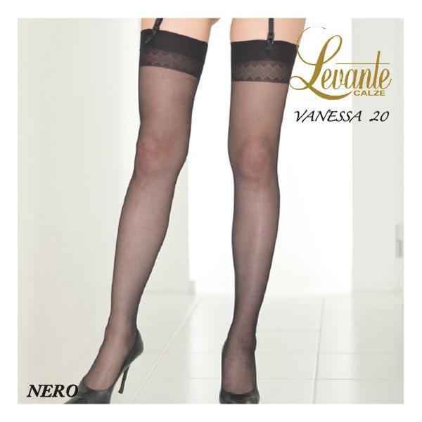 Levante【レバンテ】ガーター/ガーターストッキング/VANESSA20 インポート/オールシーズン  ダイヤ柄太ももレース lingerie-felice 07