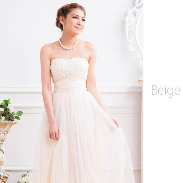 ロングドレス 結婚式 ワンピース パーティードレス