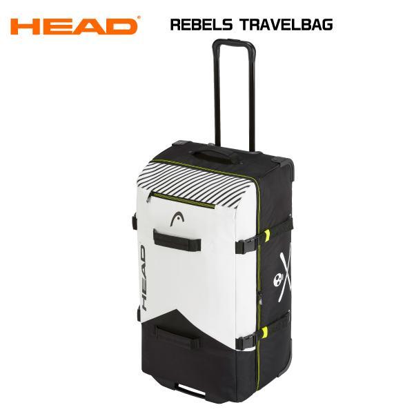 21-22 HEAD(ヘッド)【ローラー付きバッグ/数量限定商品】 REBELS TRAVELBAG (レベルズ トラベルバック)【大容量ウィール付キャスターバッグ】