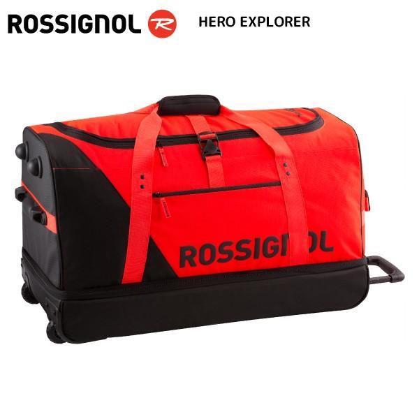 21-22 ROSSIGNOL(ロシニョール)【スキーバッグ/予約】 HERO EXPLORER(ヒーロ エクスプローラー)RKHB110 【ウィール付バッグ】