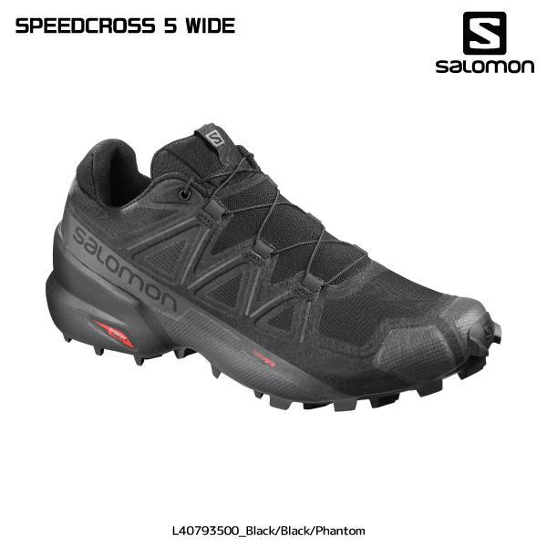 SALOMON(サロモン) 2021/トレイルランニング/  SPEEDCROSS5WIDE(スピードクロス5ワイド) トレイル